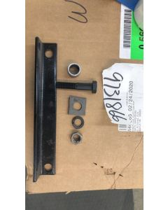 KIT;HITCH MOUNTING PLATE