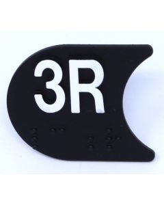 SIGN,CAR PAD, 3R, 169CF49