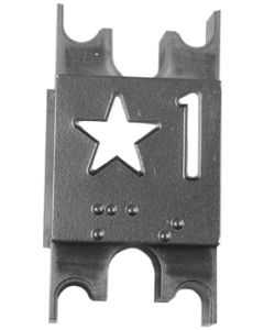 PLATE CAR IMPULSE STAR 1