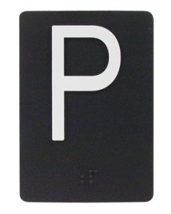 "PLATE BRAILLE 2.5X3.5 ""*1"